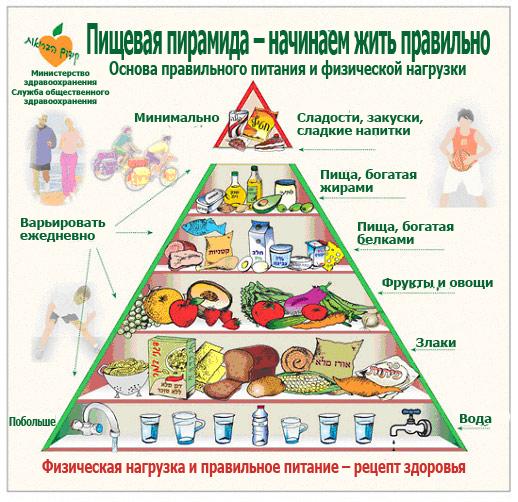 здоровое и правильное питание на неделю