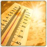 Предупреждение о волне жары с 10.7.17 до 12.7.17